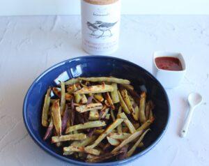 Batatas fritas saudáveis Bimby