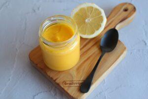 Lemon curd Bimby