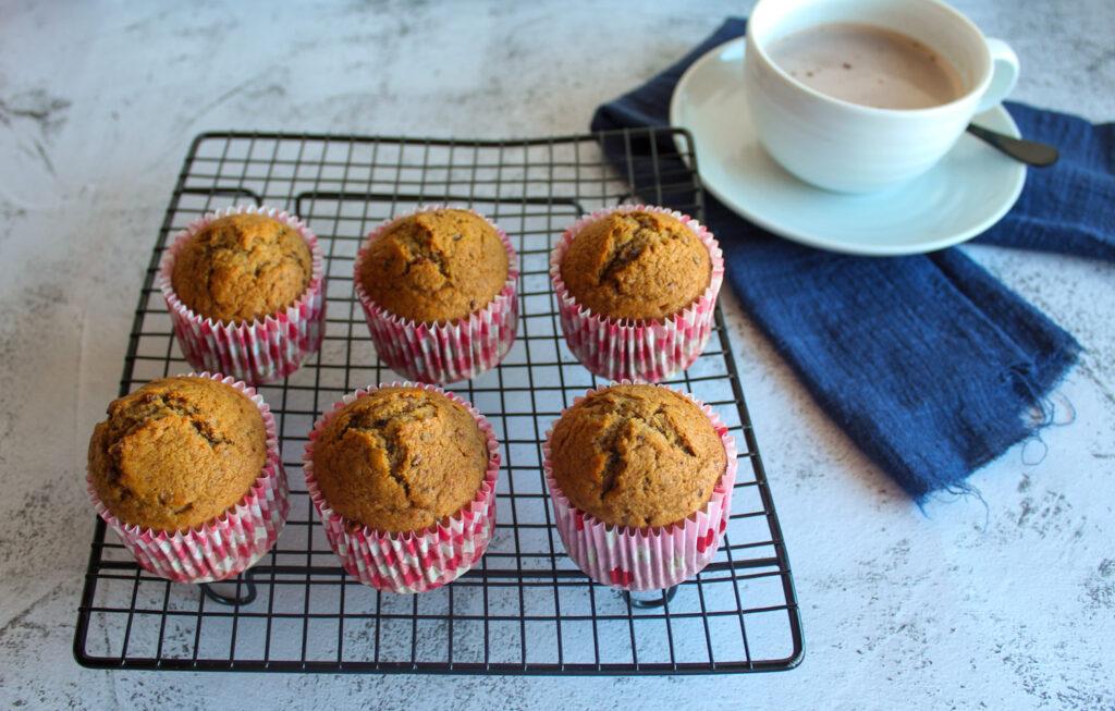 Muffins tâmaras café Bimby